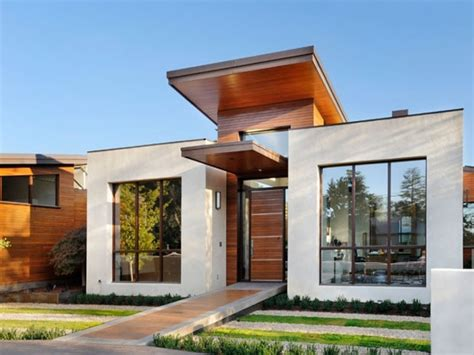 modern house design small modern house exterior