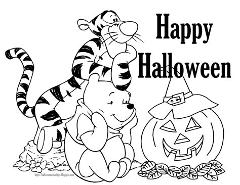 halloween coloring pages disney printable disney halloween coloring book pages kids coloring pages