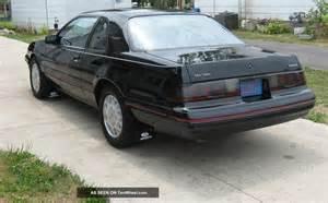 1987 ford thunderbird turbo coupe black non smoker 100k