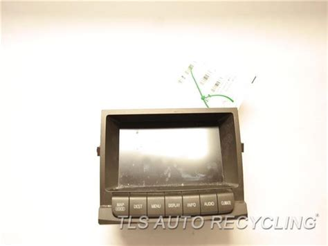repair windshield wipe control 2007 lexus gx navigation system 2007 lexus gx 470 navigation gps screen 86111 30270 used a grade