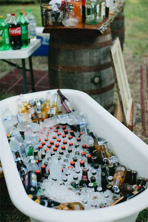 bathtub booze 19 clever diy outdoor cooler ideas let you keep cool in