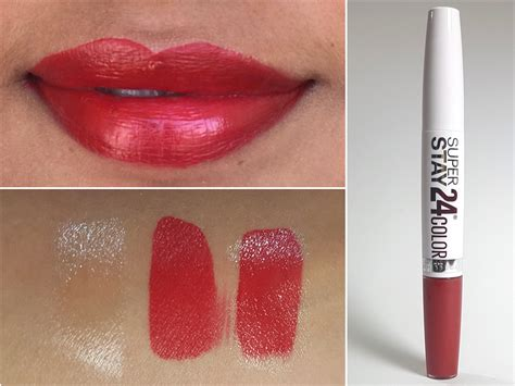 Maybelline Superstay Lip Stain maybelline superstay 24 color 2 step lipstick keep it