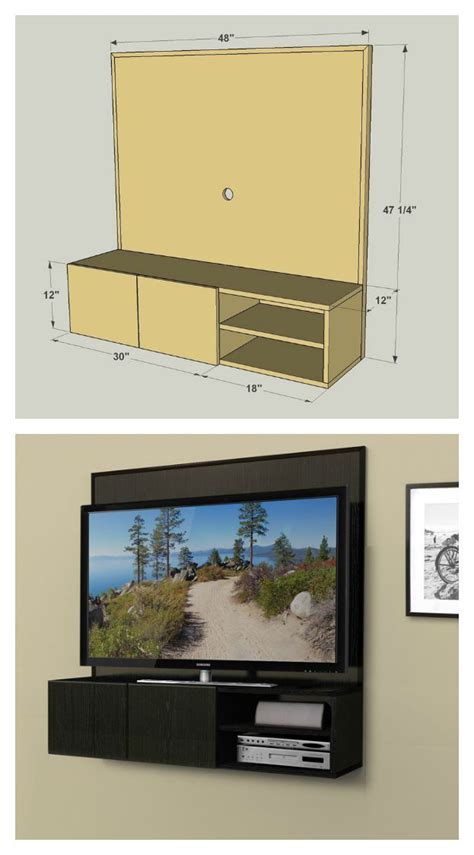 wall mounted media cabinet diy 1000 images about diy projects on traditional