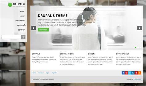 themes drupal 8 drupal 8 custom theme drupal项目社区