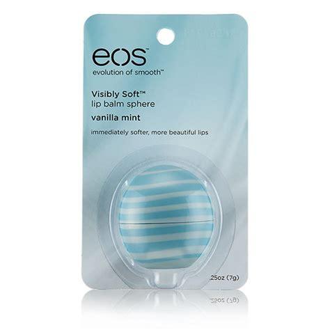 Promo Plant Extract Lip Balm Termurah Cantik 1 eos 0 25 oz visibly soft lip balm in vanilla mint