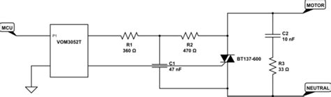how does a snubber diode work triac snubber causing more problems than benefits electrical engineering stack exchange