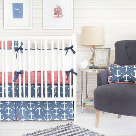 anchor baby bedding nautical baby bedding navy crib bedding anchor baby