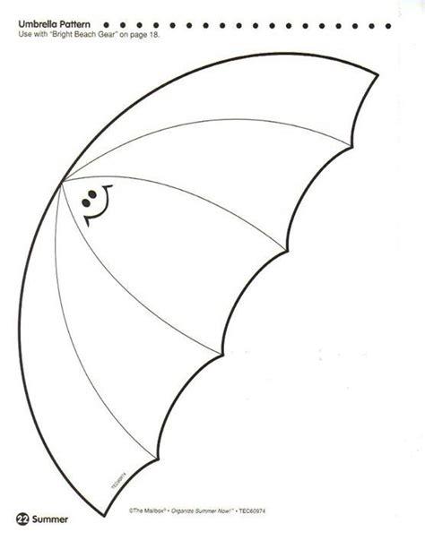 umbrella pattern to trace 55 best paraguas y botas de agua images on pinterest