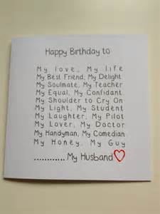 handmade husband birthday card adam my birthdays cards and gift