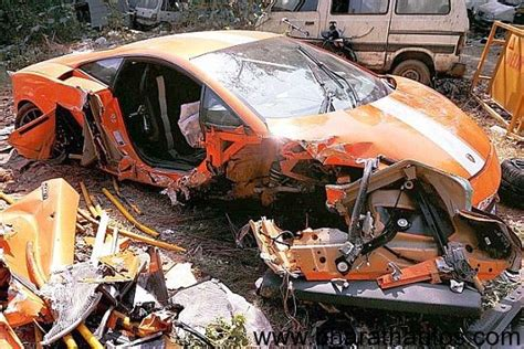 fatal lamborghini lamborghini gallardo accident archives bharath autos
