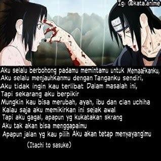 kata bijak itachi  sasuke katakatamutiaraco