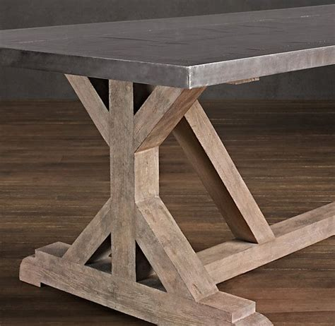 railroad tie rectangular dining table dining