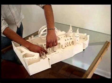 maqueta desplegable catedral st paul londres youtube