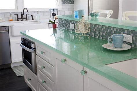 Turquoise Kitchen Countertops by 5 Countertop Materials You Probably T