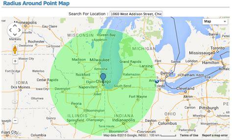 map radius tool image gallery map radius