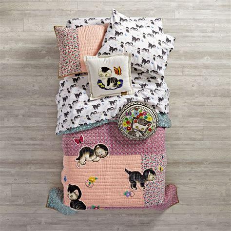 kitten bedding set kitten bedding the land of nod