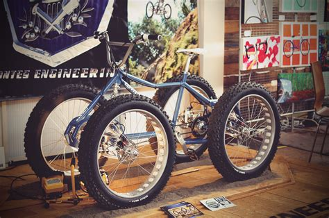 Handcrafted Bicycles - photos from the oregon handmade bicycle show