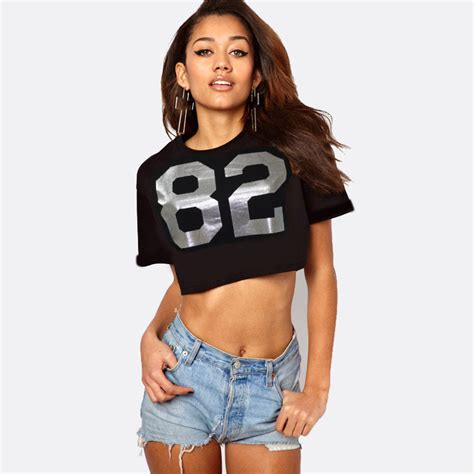 Promo Termurah Basic Crop buy sale free shpping q chance discount promo special crop t shirt style popular in city