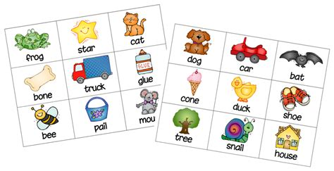 printable rhyming games first grade a la carte concentration