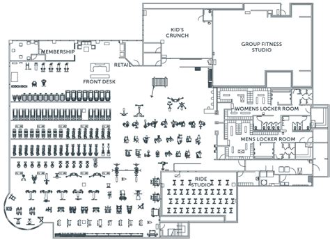 20 surprisingly gym layout plan home building plans 12740 day crunch kaf mobile homes 19698