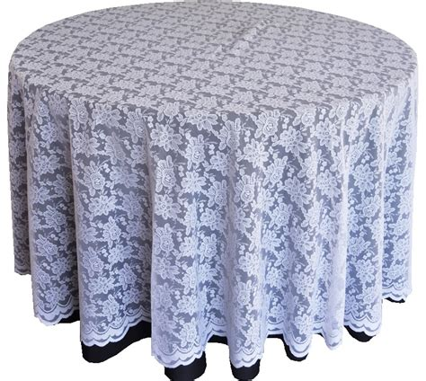 white lace table overlays linens toppers