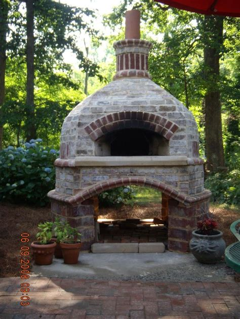 pizza oven backyard outdoor pizza ovens casual cottage