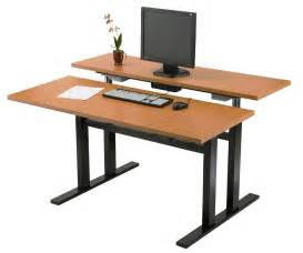diy adjustable computer desk for standing plans free