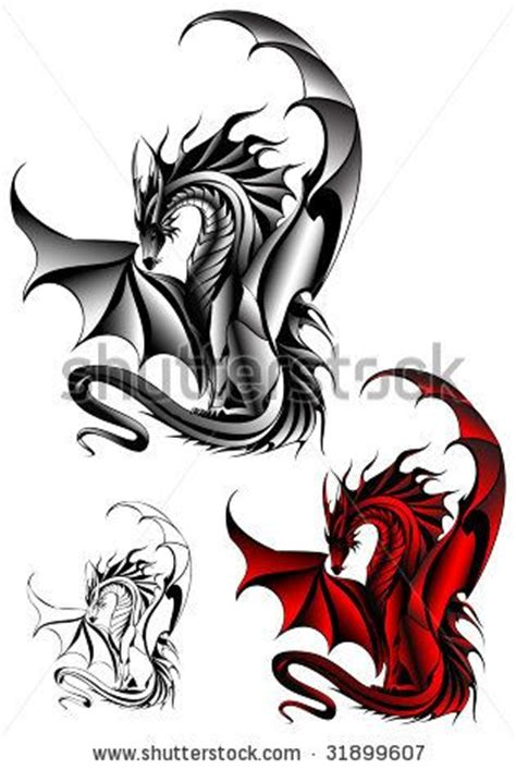 small chinese dragon tattoo designs designs design stock