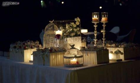 tavoli allestiti per matrimoni romantici tavoli allestiti per il ricevimento di