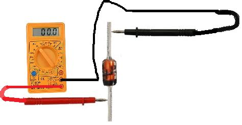 how to check diode from multimeter how to test a zener diode