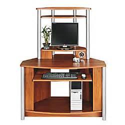 Small Computer Desk At Office Depot Citadel Corner Computer Desk With Integrated Usb Hub 60