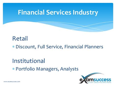 Retail Mba Discount by Financial Industry Credentials