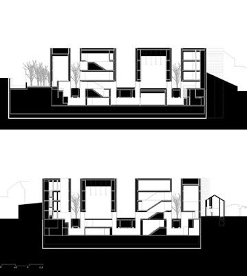 Contemporary Homes Floor Plans 1000 Images About Aires Mateus On Pinterest