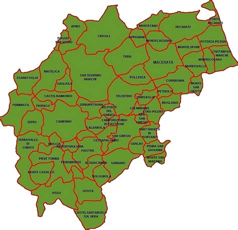 della provincia di macerata 57colori della provincia di macerata giacomo lisia