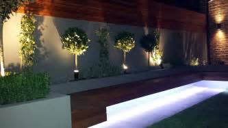 Garden Wall Lights Patio Modern Small Garden Design Clapham Battersea Balham Garden