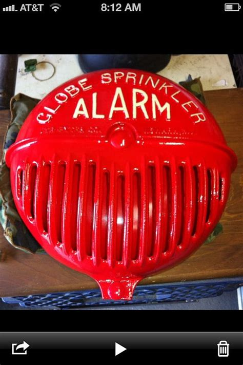 Alarm Gong Viking globe sprinkler alarm bell department