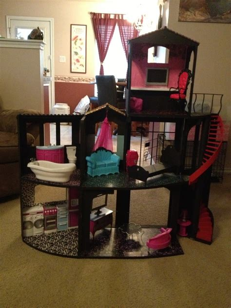 dolls house diy monster high dollhouse monster high pinterest