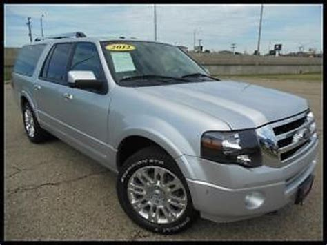 purchase used 13 ford expedition silver black power cooled seats microsoft sync rear in