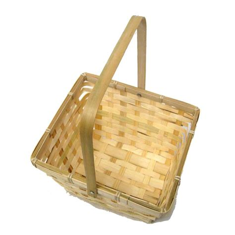 natural swing natural swing handle bamboo basket the lucky clover