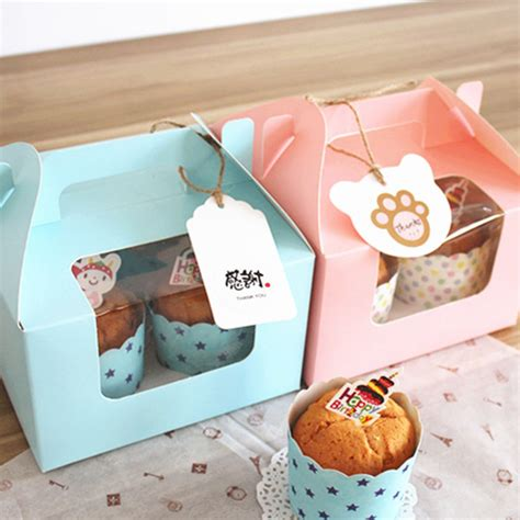 Box Segi Packing Cookies Packing Kue Roti Cake Souvenir T0310 2 jual box kue dus cupcake cake kue kering packing karton