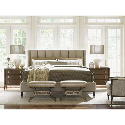 platform bedroom furniture sets lexington tower place platform customizable bedroom set
