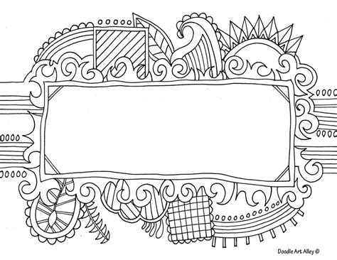 for doodle template name templates coloring pages doodle alley