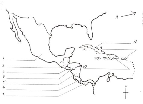 central america outline map free central america blank map ripping outline free creatop me