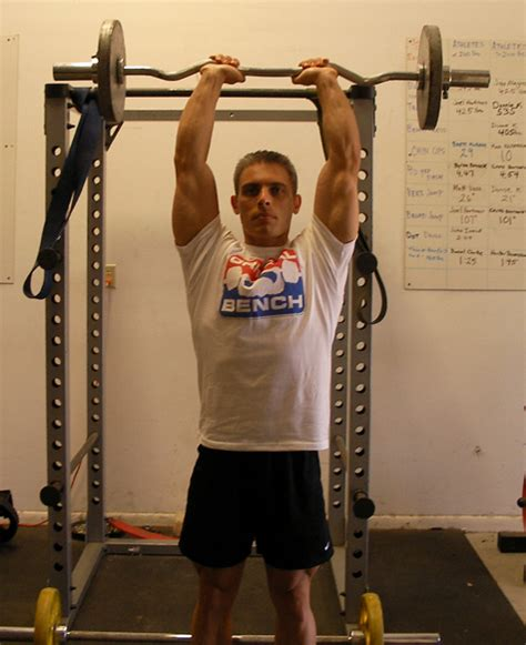 bench press in french standing ez bar french press exercise using weight bench
