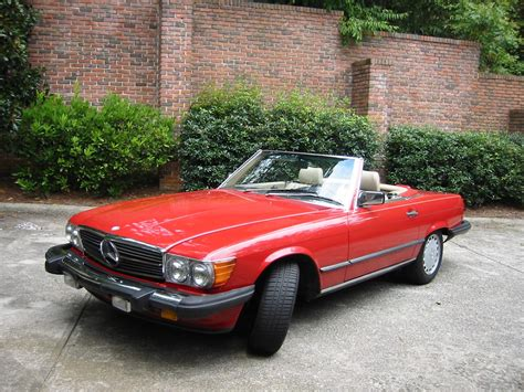 trouper 1988 mercedes 560sl specs photos