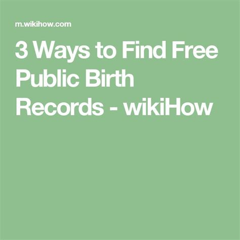 How To Find Birth Records M 225 S De 25 Ideas Incre 237 Bles Sobre Birth Records En