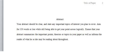 Obst 520 Research Paper by Sle Abstract Of Apa Research Paper Buy Original Essay Www Alabrisa