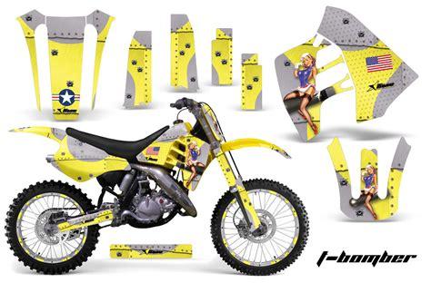 suzuki rm 125 1992 rm 250 1989 1992 dirt bikes graphic kit