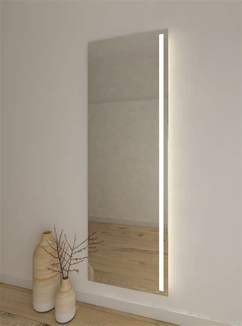 espejo para vestidor espejo vertical para vestidor con luz led en un lado