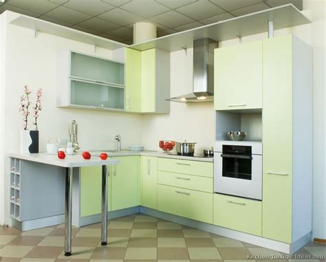 green white kitchen pictures of kitchens modern green kitchen cabinets